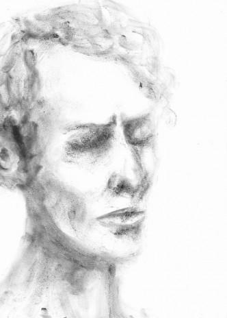 """Dessins série: """"Portraits fictifs"""""""