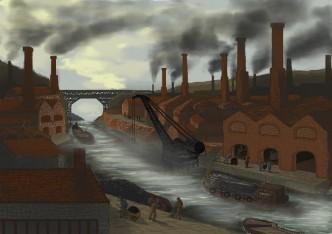 Illustration sur le thème de l'histoire.