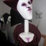 """Costumes des marionnettes de: """" Gianni Schicci""""."""