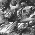 Illustration sur le thème de l'espace
