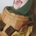 """Costumes des marionnettes de: """"Gianini Schicci""""."""