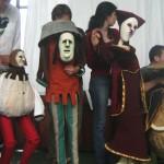 """Costumes des marionnettes de: """"Gianni Schicci""""."""