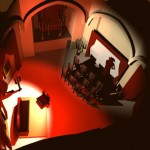 Maquette 3D: le château de Dracula