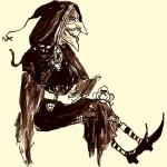 """Etude de la marionnette: """"à l'école des sorcières"""""""