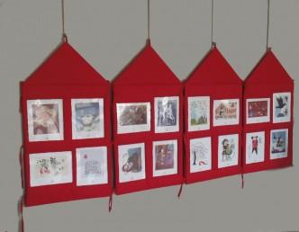 Module d'exposition pour des illustration à destination du jeune public