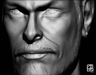 """Modèle 3D: portrait""""."""