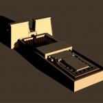 """Modèle 3D:""""temple Egyptien"""""""