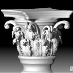 """Modélisation 3D:""""temple Grec""""."""