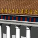 """Modèle 3D:""""temple Grec""""."""