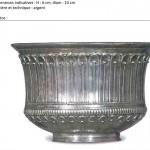"""Modélisation 3D: """"vase argent"""""""