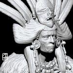 """Modèle 3D:"""" la reine rouge"""""""
