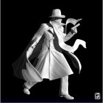 """Figurine 3D: """"personnage de comics"""""""