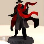 """Figurine 3D:""""personnage de comics"""""""