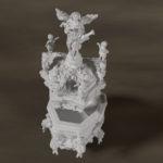 """Modélisation 3D:""""chaire"""""""