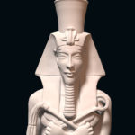 "3D interpretation: ""bust of Akhenaten"""